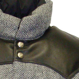 Rocky Mountain Featherbed - DOWN VEST/HARRIS TWEED