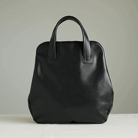 Maria Jobse - SHAPED TOTE #black/cow leather