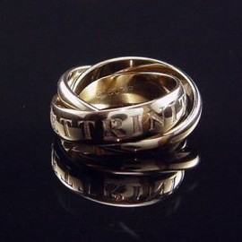 Cartier - LIMITED EDITION CARTIER AMOUR 98 TRINITY RING 18K