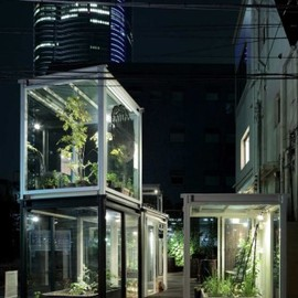 Yokohama Apartment with semi-public courtyard