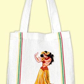 red and white kitchen company - HULA TOTE
