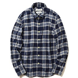REMI RELIEF - REMI RELIEF×BEAMS PLUS / 別注 チェックシャツ 16FW