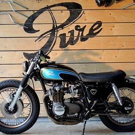 Honda - Pure Motorcycles CB500 cafe racer