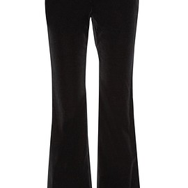 Theory - Caroleena stretch-cotton velvet flared pants
