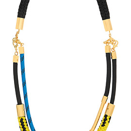 MARNI - Gold-plated rope necklace