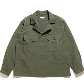 ENGINEERED GARMENTS - MC Shirt Jacket-Cotton Ripstop-Olive