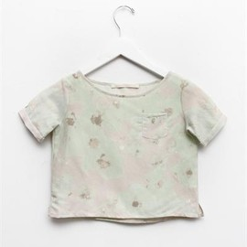 Creatures of Comfort - Lil Julie Top- Floral Mint