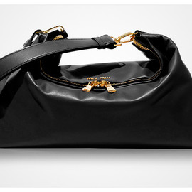 miu miu - Sac Cloud Bag in napa leather