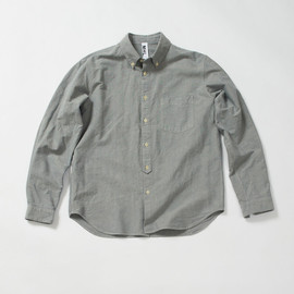 MHL. - TOUGH OXFORD BD SHIRT