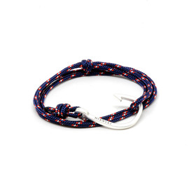 MIANSAI - Classic Miansai Silver Hook on Navy Cord