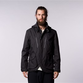 ISAORA - TECH HOODED SPORTCOAT