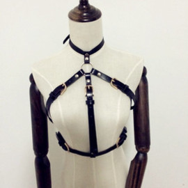 Leather Waist Harness