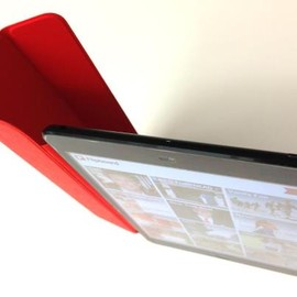 Apple - iPad mini with product Red Smart Cover