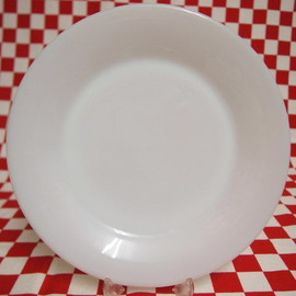 Fire King - White Restaurant Ware G306 Dinner Plate
