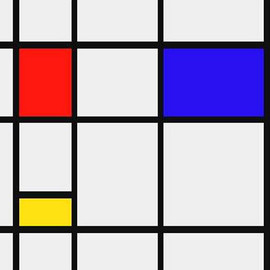 Piet Mondrian - Composition
