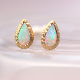 hariqua - Crystal opal weave pierce