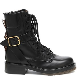 Chloé - Leather combat boots