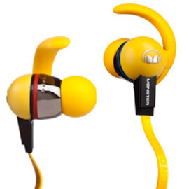 Monster Cable - iSport Immersion In-Ear Headphone - LIVESTRONG™ Edition