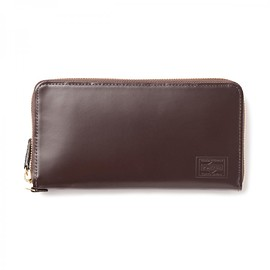"HEAD PORTER - ""VIANA"" WALLET (L) BROWN"