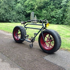 Car Wheel Bicycle