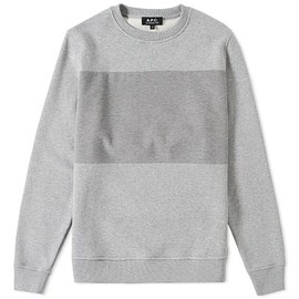 A.P.C. - A.P.C. SHINE CREW SWEAT(gray)