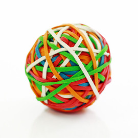 STAPLES - Rubber Band Ball