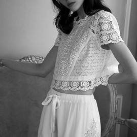 """Kate Bogucharskaia in """"Dress Up"""" for Urban Outfitters, Spring 2014 Lookbook"""