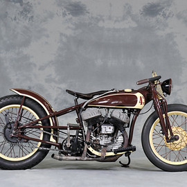 BAR-BER CYCLE - 1942 HARLEY-DAVIDSON WLA