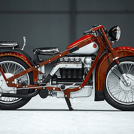 Motorworld - 1938 Nimbus 750 Straight 4