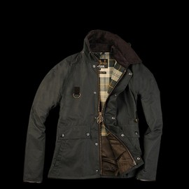 Barbour - standen waxed jacket