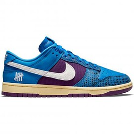 """NIKE, UNDEFEATED - UNDEFEATED × NIKE DUNK LOW SP """"DUNK VS AF-1 PACK"""" BLUE/PURPLE"""