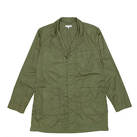 ENGINEERED GARMENTS - Shop Coat-Lt.Weight High Count Twill-Olive