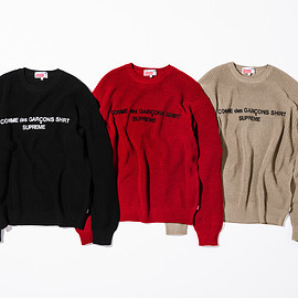 Supreme, COMME des GARCONS SHIRT - Cotton Sweater