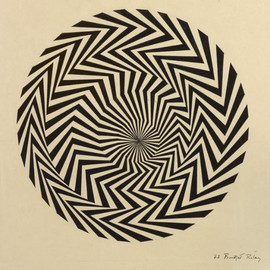 Bridget Riley - Blaze