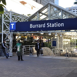 Burrard Station - File:Vancouver - Burrard Station entrance 01.jpg