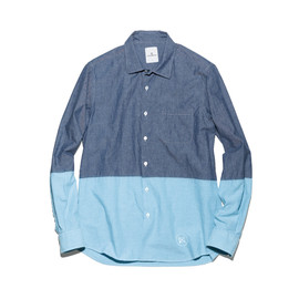 uniform experiment - 2 TONE CHAMBRAY SHIRT