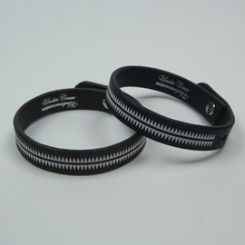 UNDERCOVERISM - GIZ LEATHER WRISTBAND 2