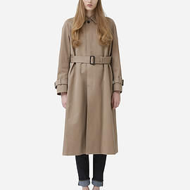 beautiful people - finx nidom twill soutien collar coat