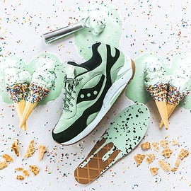 SAUCONY - G9 Shadow 6000 - Mint Chocolate Chip