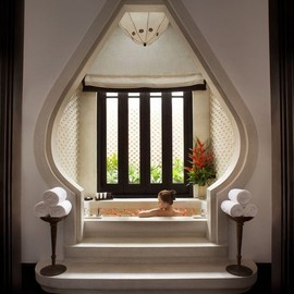 Spa bathroom at InterContinental Danang Resort in Vietnam