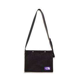 THE NORTH FACE PURPLE LABEL - Suede Shoulder Bag-Black