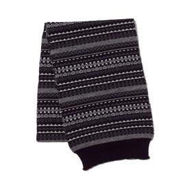 White Mountaineering - WM1473835 TRIANGLE PATTERN JACQUARD KNIT MUFFLER