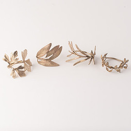 Michael Michaud - Herb Napkin Rings