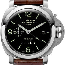OFFICINE PANERAI - LUMINOR 1950 10 DAYS GMT AUTOMATIC ACCIAIO 44MM PAM270