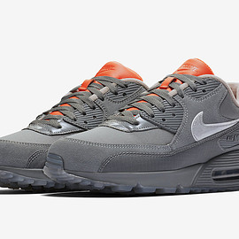 NIKE, The Basement - Air Max 90 - Cool Grey/Dark Grey/Orange?