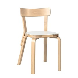 artek - Chair 69 white laminate