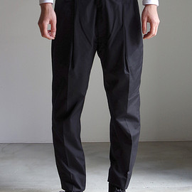 RAINMAKER KYOTO - GURKHA TROUSERS / BLACK