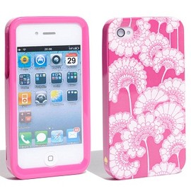 kate spade NEW YORK - iPhone 4/4S ケース (Japanese Floral Pink)