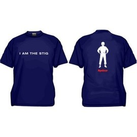 "BBC - Top Gear T-shirt  ""I am the stig"""