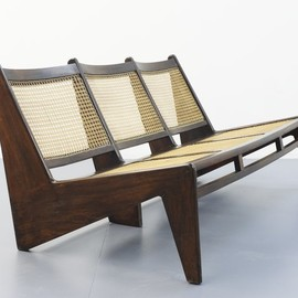 Pierre Jeanneret - sofa, Chandigarh, ca 1955